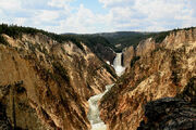 Yellowstone canyon not post processed image edit 1