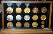 1988 Olympic Winter Games medals