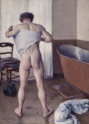 Gustave Caillebotte -Man at His Bath