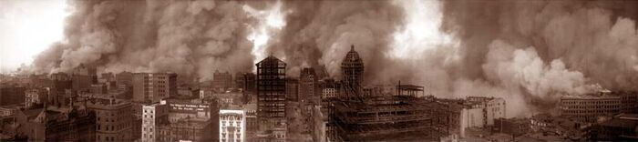 San francisco fire 1906