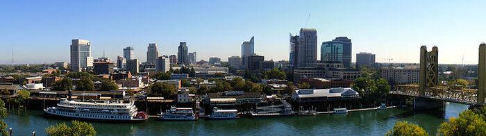 Sacramento Skyline (cropped)