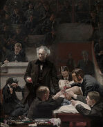 Thomas Eakins, American - Portrait of Dr. Samuel D. Gross (The Gross Clinic) - Google Art Project
