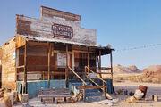 Abandoned Rhyolite General Store