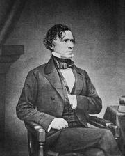 Mathew Brady - Franklin Pierce - alternate crop