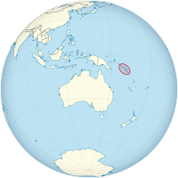 Solomon Islands on the globe (Oceania centered).png