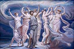 Pleiades by Elihu Vedder