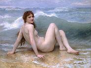 William-Adolphe Bouguereau (1825-1905) - The Wave (1896)-2