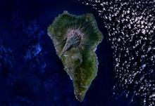La Palma LANDSAT-Canary Islands