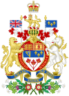 Coat of arms of Canada rendition
