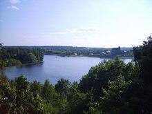 Hameenlinna lake vanajavesi