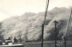 DustStormInSpearmanTexas19350414