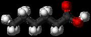 Caproic-acid-3D-balls