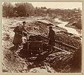 PG - Miners washing gold-bearing sand near Beryozovsky