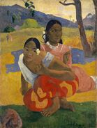 Paul Gauguin, Nafea Faa Ipoipo? 1892, oil on canvas, 101 x 77 cm