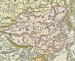 Qing china