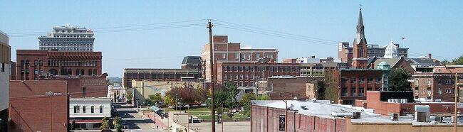 St Joseph Missouri skyline
