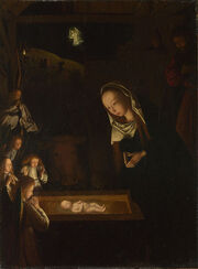 Geertgen tot Sint Jans, The Nativity at Night, c 1490