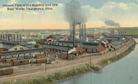 RepublicIron&SteelWorks YoungstownOH 1900s