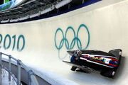 USA I in heat 1 of 2 man bobsleigh at 2010 Winter Olympics 2010-02-20
