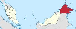Sabah in Malaysia