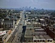 Woodward Ave Detroit 1942