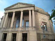 Severance Hall front, Cleveland, Ohio