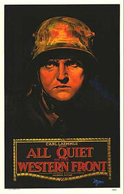 All Quiet on the Western Front (1930 film) poster