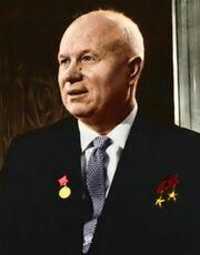 Nikita Khruchchev Colour