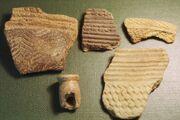 Prehistoric pottery shards, Sierra Leone
