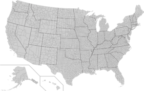 Usa counties large