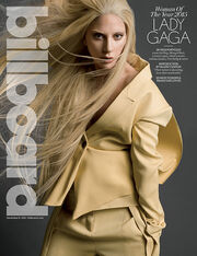 Billboard cover December 12, 2015 Lady Gaga
