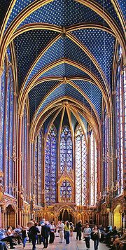 Sainte Chapelle - Upper level 1