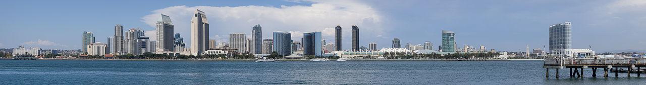 St Diego Skyline Panorama 2013
