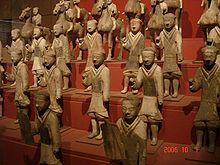 Pottery warriors, Xihan