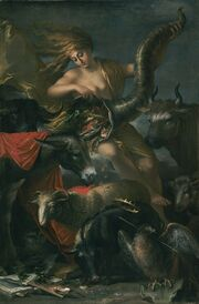 Salvator Rosa (Italian) - Allegory of Fortune - Google Art Project