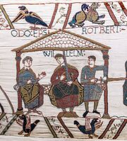 Bayeux Tapestry scene44 William Odo Robert
