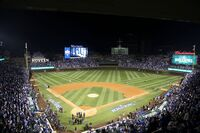 Wrigley Field is ready for World Series Game 3. (30525773952)