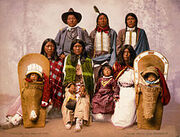Utes chief Severo and family, 1899