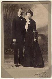 Sundance Kid and wife