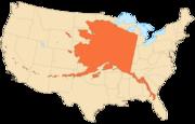 Alaska area compared to conterminous US