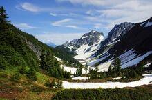 Cascade Pass and Pelton Basin