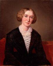 George Eliot at 30 by François D'Albert Durade