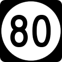 Elongated circle 80