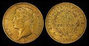 France 1807-A 40 Francs