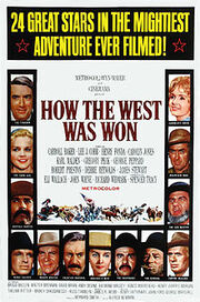 Poster - How the West Was Won
