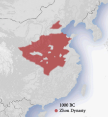 Zhou dynasty 1000 BC