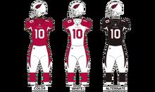 Ariz Cardinals uniforms