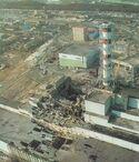Четвертий реактор ЧАЕС 1986