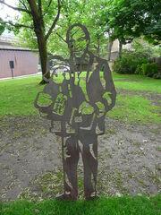 Michael Bond, Saint Mary's Square, Paddington