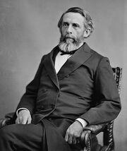 George Boutwell, Brady-Handy photo portrait, ca1870-1880